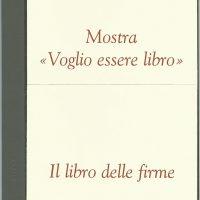 il libro delle firme - mostra Torino 2009