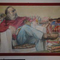 il pittore Luigi Baldelli (2010)