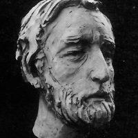 lo scultore Achille Guzzardella (1986)